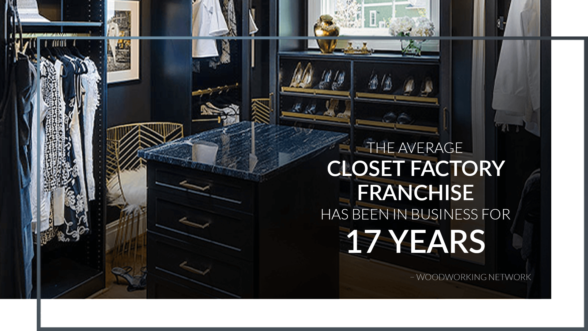 closet factory franchise for sale